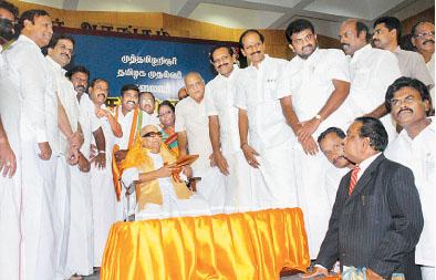 கருணாநிதி-2010-கொண்டாட்டம்