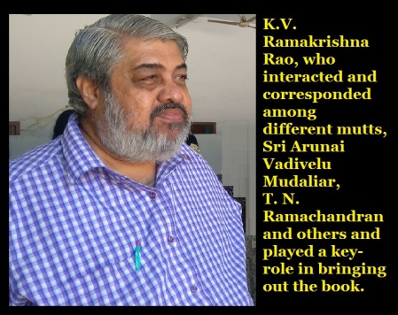 K.V.R and arunai book release