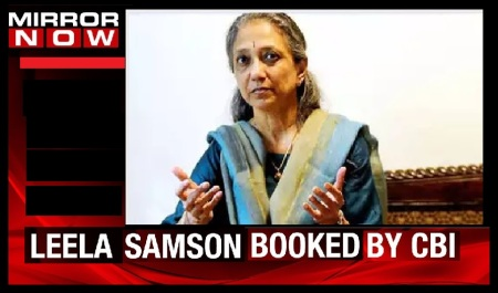 Leela Samson booked by CBI